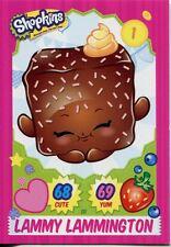 Topps Shopkins Series 1-4 Trading Cards Base Card #111 Lammy Lammington
