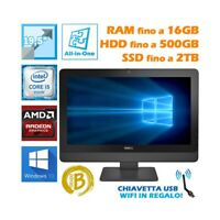"PC Computer Aio All IN One Dell 3030 19,5 "" I5 4590S Grafiken Photoshop Editing"