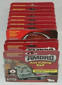 12 x Amdro Ant Killing Bait Indoor Bait Stations 4 per pack = 48 bait stations