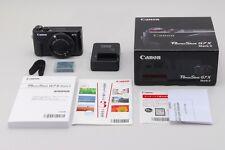"#1460 ""Unused"" Canon PowerShot G7X Mark II Digital Camera from JAPAN"
