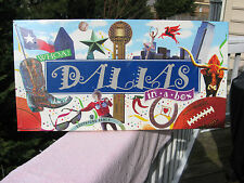 """Dallas In A Box"" Board Game Authentic Landmark Edition~New & Factory Sealed!"