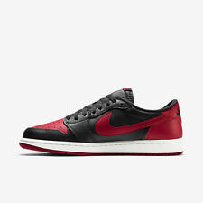 2015 NIKE AIR JORDAN 1 RETRO LOW OG BRED Size 13 high royal black toe shadow dmp