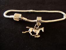 Horse bracelet  Riding bracelet   Mustang bracelet   riding bracelet
