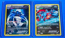 Pokemon Malamar XY58 and Salamence XY59 - Ancient Heros RARE HOLO Promo Card Set