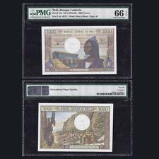 Mali 1000 Francs, ND(1970-84), P-13b, PMG EPQ 66, African, UNC