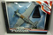 Toy Zone Air Power Detailed Die Cast Metal Replica P-51D Mustang