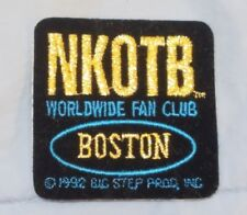 1990s Nkotb Patch Sticker Worldwide Fan Club Boston
