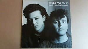 "TEARS FOR FEARS        ""SONGS FROM THE BIG CHAIR""         VINYL LP RECORDS"