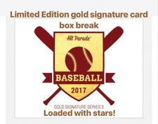 LIMITED EDITION Hit Parade Golden Autographed Card Box Break (100)
