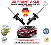 FOR FORD MONDEO BA7 1.6 1.8 2.0 2.3 2.5 2007-2015 2X FRONT SHOCK ABSORBERS SET