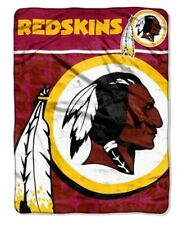 Washington Redskins NFL American Football 46'' x 60'' Raschel Throw Blanket
