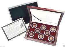 Constantine Dynasty: 8  Ancient Roman Bronze Coin Collection,With Beautiful Box