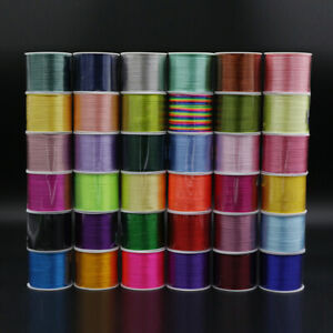 Braided Jewelry Cord Thread String Rope For DIY Making Bracelet Necklace Knot