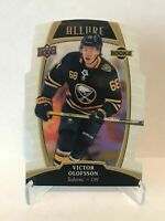 1x - 2019-20 Upper Deck Allure - Victor Olofsson - Rookie - White Rainbow - #88