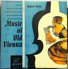 Robert Stolz - Music For Old Vienna LP VG+ LPS.74 UK FFrr 1949 Record