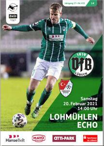 Lohmühlen ECHO Nr. 433 - VfB Lübeck vs. Türkgücü München