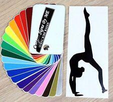 Ginnastica danza balletto Sticker Vinyl Decal Adesivo Murale Finestra LIBRO Laptop #1