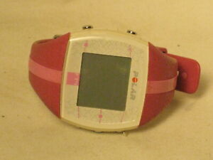 pre-owned POLAR FT4 heart rate monitor watch pink band only