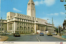 postcard Yorkshire  Leeds The University  posted  Dennis