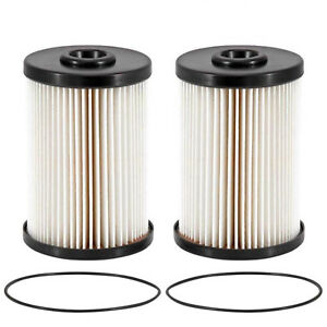 2 Pack DODGE RAM Fuel Filter Turbo Diesel 2500 3500 5.9L Cummins 2000-2010