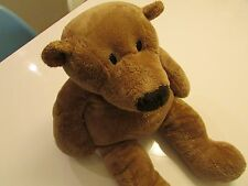 RARE !!   Vintage PRICH Brown Teddy Bear Plush Toy / 19''