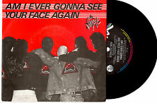 "THE ANGELS - AM I EVER GONNA SEE YOUR FACE AGAIN - RARE PROMO 7""45 RECORD 87"