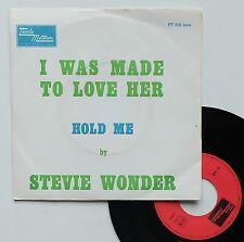 """Vinyle 45T Stevie Wonder  """"I was made to love her"""""""