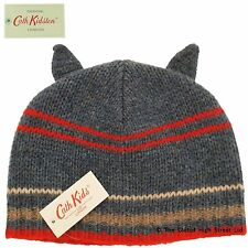 Cath Kidston Cath Kids Child's Hat knitted with ears (blue) 100% authentic BNWT