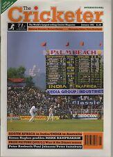 Cricketer Magazine (Wisden) - January 1992