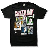 Green Day 99 Revolutions Tour Black T Shirt New Official Band Merch