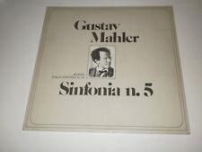 GUSTAV MAHLER - SINFIONA n.5 - RARE 2 LP ORIZZONTE CLASSICA MADE IN ITALY 1975