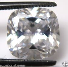 9.0 x 9.0 mm 4.00 ct Cushion Cut Sim Diamond, Lab Diamond WITH LIFETIME WARRANTY