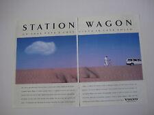 advertising Pubblicità 1993 VOLVO STATION WAGON