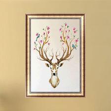 DIY 5D Diamond Sika Deer Mosaic Embroidery Paint Cross Stitch Craft Home Decor