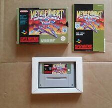 Jeu Super Nintendo SNES Metal Combat complet