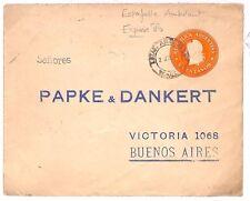 S318 Argentina Railway Postal Stationery {samwells-covers}PTS