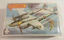 Matchbox P-38 Lightning 1/72 PK-118 model kit factory sealed