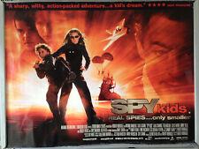 Cinema Poster: SPY KIDS 2001 (Quad) Antonio Banderas Alan Cumming