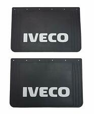 """2ps.Heavy Duty FRONT Rubber Mud Flaps IVECO Truck Fluorescent  23.2"""" x15.4"""""""