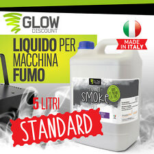 LIQUIDO PER MACCHINA FUMO 5 lt nebbia smoke fog discoteca dj party led dmx 34042
