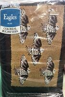 Vintage Aunt Lydia's #202 EAGLES Rug Hook Punch Pattern
