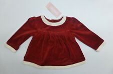 Gymboree Baby Girls Size 12-18 M Red Christmas Dress New With Tags