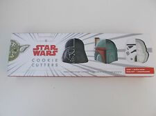 Williams Sonoma Star Wars Cookie Cutters Set of 4 BNIB Rare Hard to Find!
