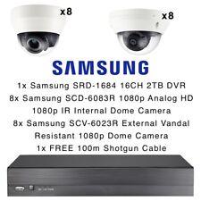 Samsung 16CH DVR 2 To HD 1080p 16x Dôme Caméras résistant au vandalisme à foyer progressif IR