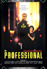 THE PROFESSIONAL * CineMasterpieces NATALIE PORTMAN LEON ORIGINAL MOVIE POSTER