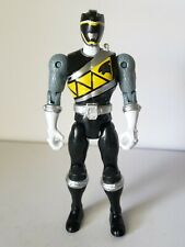 Power Rangers Collection 5in Dino Steel Charge Black Ranger