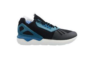 [M19644] Adidas Tubular Runner Mens Running Black/Surpet-White
