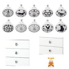 10 x manijas del gabinete Pomos y Tiradores Tiradores de Muebles de cajones