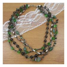 """18"""" Agate Natural Stone Necklace Pentant Gemstone Quartz Boho Yoga Xmas Gift 125"""