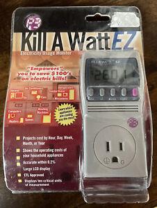 P3 KW EZ Kill-A-Watt EZ Power Meter Electricity Usage Monitor P4460 New in Box